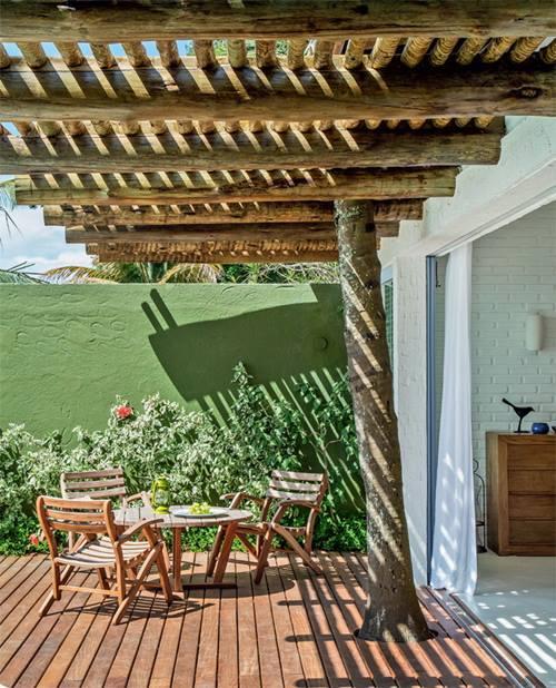 Casas con encanto rústico renovado junto al mar en Brasil 4