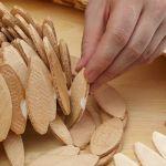 Ideas de decoración oriental flor de madera DIY para chill out 13