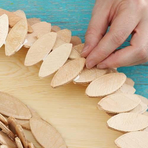 Ideas de decoración oriental flor de madera DIY para chill out 14