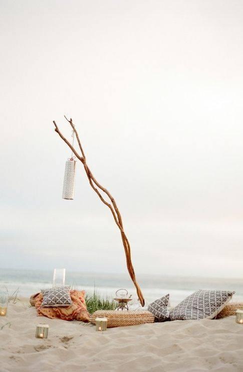 Ideas para decorar un picnic en la playa, el campo, el lago... 4