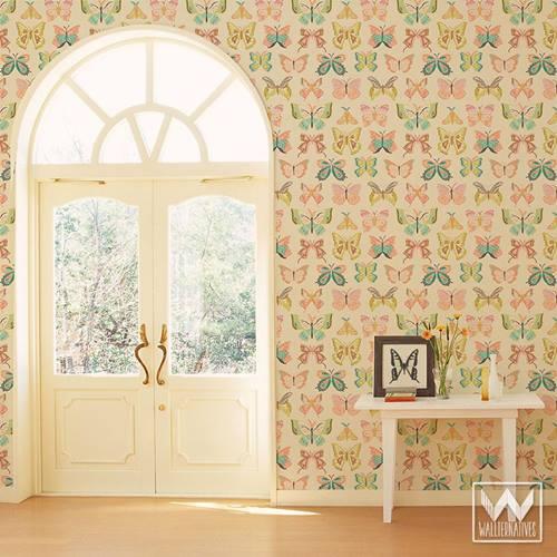 Papel pintado vintage con diseños que enamoran...11