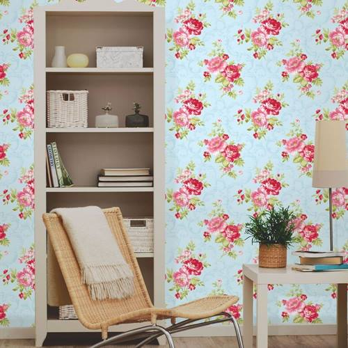 Papel pintado vintage con dise os que enamoran decomanitas for Papel pintado dormitorio principal