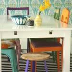 Papel pintado vintage con diseños que enamoran...7