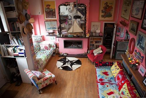 Casas con encanto crazy vintage en esta casa familiar en Dorset 2