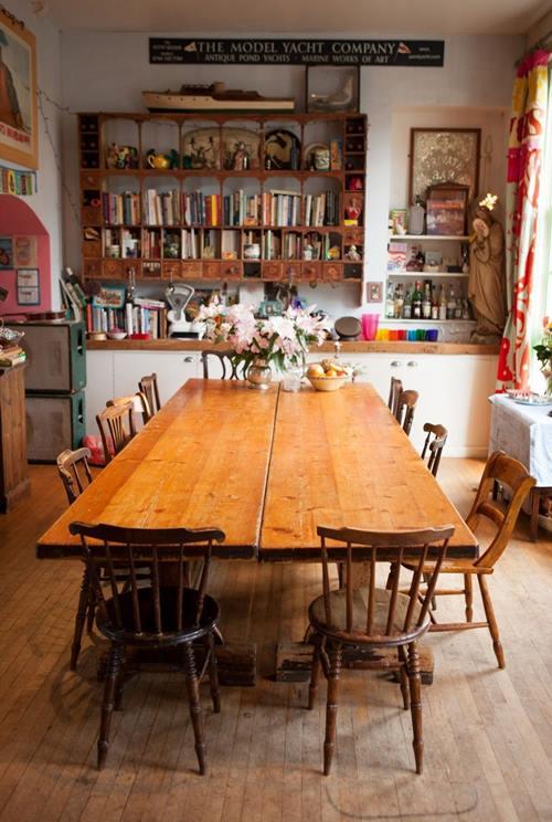 Casas con encanto crazy vintage en esta casa familiar en Dorset 4