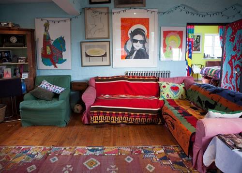 Casas con encanto crazy vintage en esta casa familiar en Dorset 6