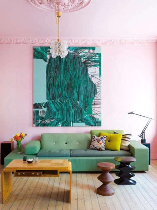 Casas con encanto un hogar donde el color todo lo puede  8