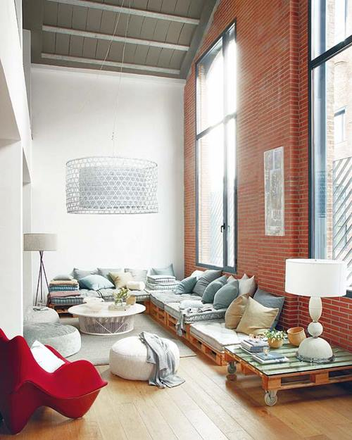 10 muebles con palets reciclados muy inspiradores para - Decorar terrazas reciclando ...