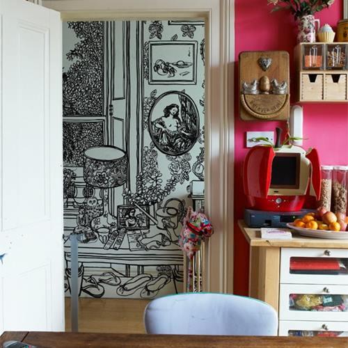 Casas con encanto exótica India en una típica casa británica 3