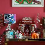 Casas con encanto exótica India en una típica casa británica 4