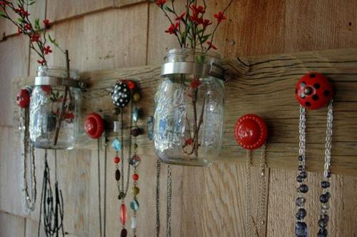Ideas para decorar cómo hacer colgadores con tiradores vintage 6