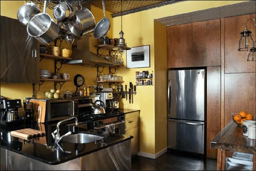 Casas con encanto un apartamento en Nueva York rústico renovado 5