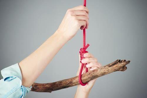 Decorar con ramas secas perchero rústico DIY para colgar 5