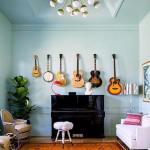 Decorar paredes con colecciones de todo lo que puedas imaginar…