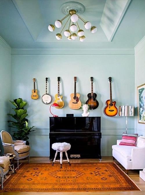 Decorar paredes con colecciones de todo lo que puedas imaginar... 3