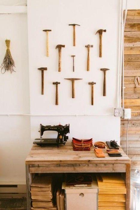 Decorar paredes con colecciones de todo lo que puedas imaginar... 5