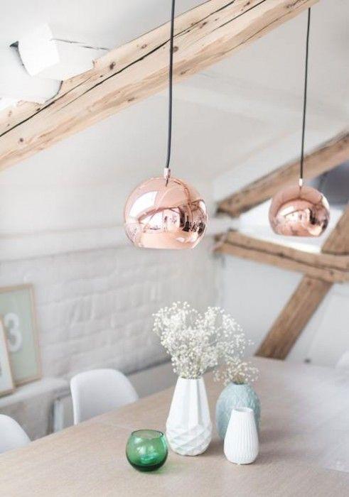 L mparas de color cobre y otras piezas para decoracion - Piezas para lamparas ...