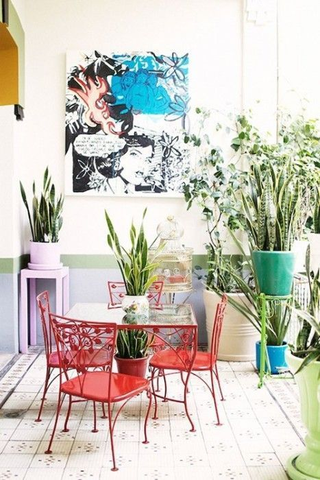 Mi casa mi selva 20 ideas para decorar con plantas de - Idea para decorar mi casa ...