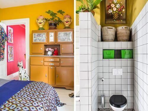 Casas con encanto decoración retro con chispa en Holanda 3