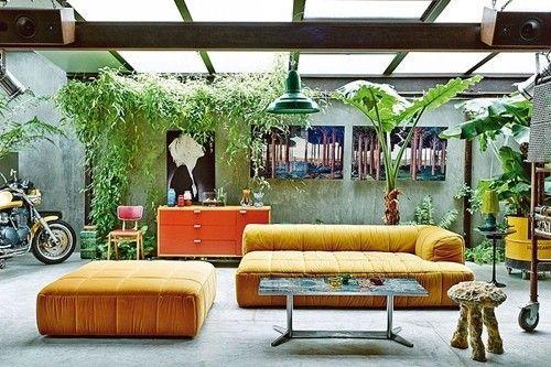 Casas con encanto loft con estilo industrial y muebles for Muebles con encanto online