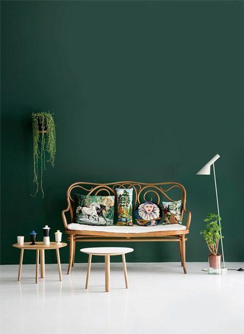 Verde esmeralda para decoración de interiores llena de misterio... 8