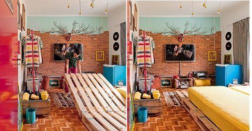 casas con encanto decoracion reciclada y optimista en Brasil 5