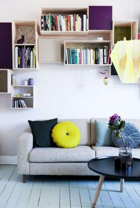 15 ideas para decorar cajas de madera y tunearlas en estanterías 11