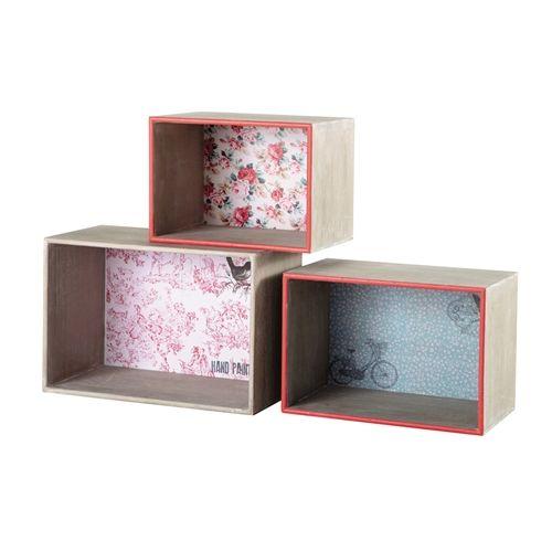 15 ideas para decorar cajas de madera y tunearlas en estanterías 13