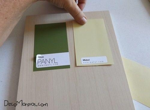 2 manualidades para decorar paredes con tablas de madera 2