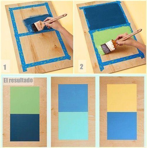 2 manualidades para decorar paredes con tablas de madera 9