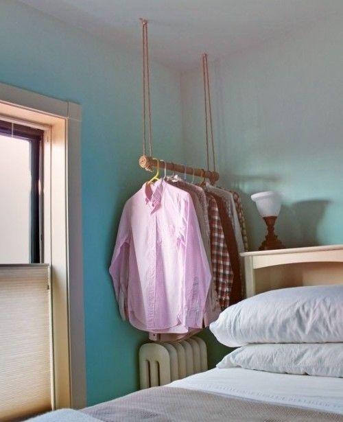 Burros para ropa los percheros a la vista 'rompen' en decoración... 10