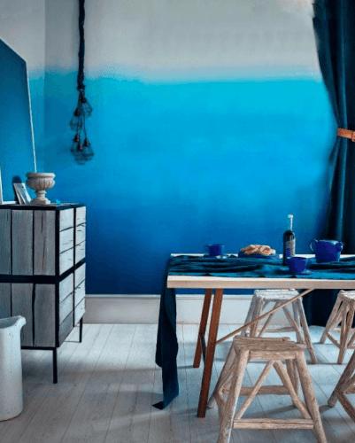 Cómo aplicar la técnica tie-dye para decorar tu casa 4