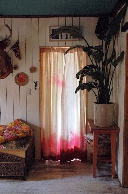 Cómo aplicar la técnica tie-dye para decorar tu casa 7