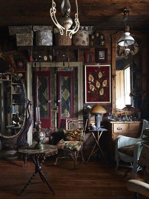 Casas con encanto decoración vintage, arte y coleccionismo 2