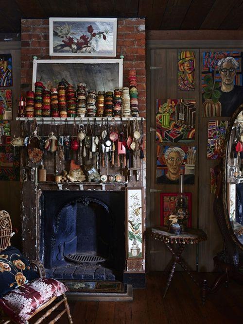 Casas con encanto decoración vintage, arte y coleccionismo 4