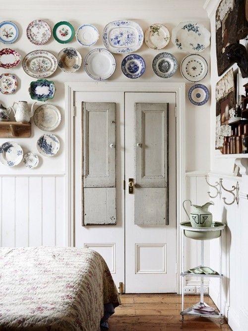 Casas con encanto decoración vintage, arte y coleccionismo 5