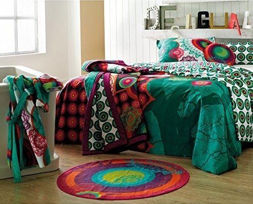 Desigual ropa de cama a todo color de inspiraci n boho chic decomanitas - Desigual ropa de cama ...