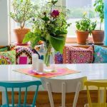 20 ideas para pintar muebles de madera antiguos a todo color 15
