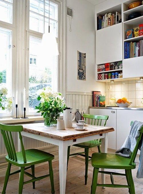 20 ideas para pintar muebles de madera antiguos a todo color 17