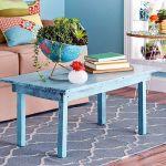 20 ideas para pintar muebles de madera antiguos a todo color 19