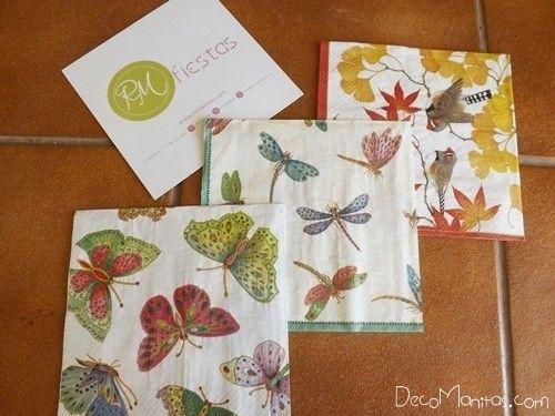 Decoupage con servilletas de papel cómo decorar tazas paso a paso 4