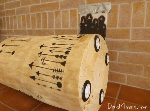 Tendencia naturalista personalizar muebles en crudo con stencil 8