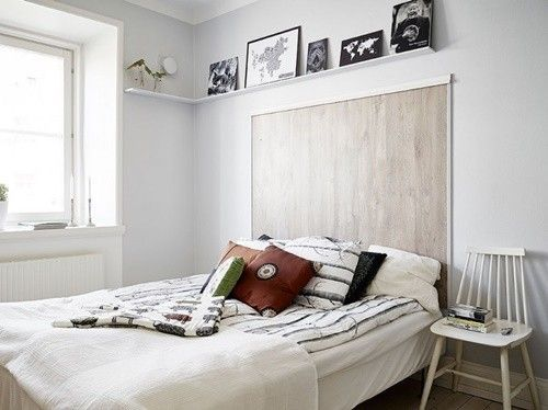Cabeceros de cama originales estos 10 diy te - Cabeceros originales de madera ...