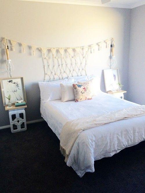 Cabeceros de cama originales estos 10 diy te - Cabeceros de camas originales ...
