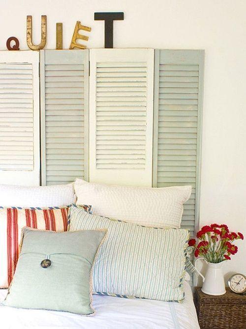 Cabeceros de cama originales estos 10 DIY te sorprenderán...! 7