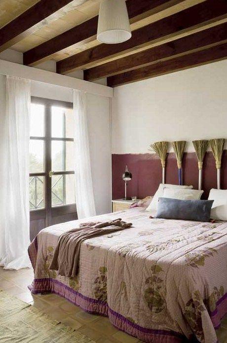Cabeceros de cama originales estos 10 DIY te sorprenderán...! 9