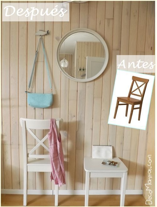 Reciclar muebles con otro uso reciclaje creativo de una vieja silla 1