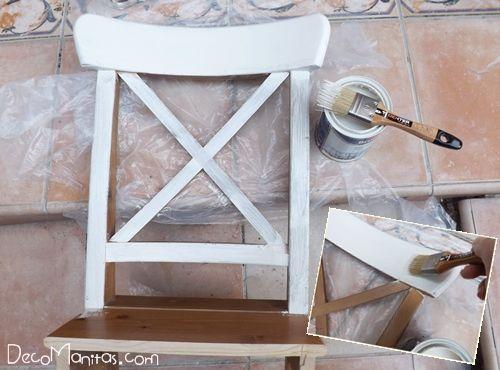 Reciclar muebles con otro uso reciclaje creativo de una vieja silla 10