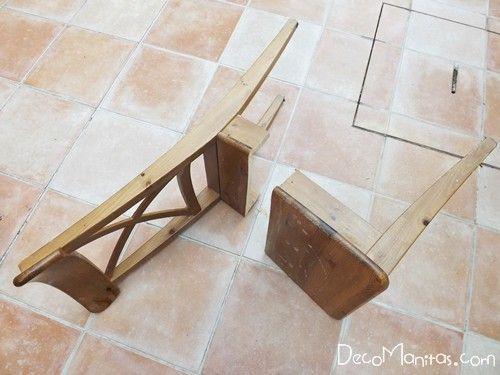 Reciclar muebles con otro uso reciclaje creativo de una vieja silla 4