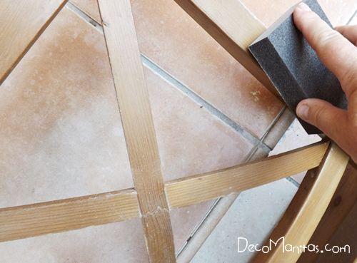 Reciclar muebles con otro uso reciclaje creativo de una vieja silla 7
